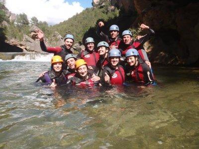 Portilla's Canyon descent, initiation.