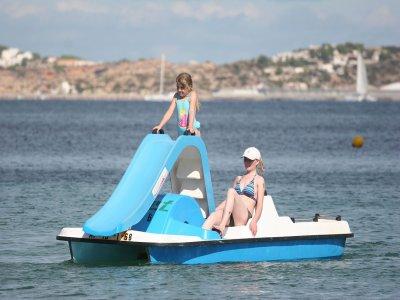 Pedalo boat rental, Marbella
