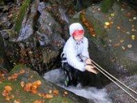 Walking upstream