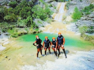Canyoning and Via Ferrata with photos in Pyrenees