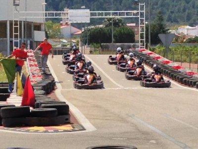 Big prize karting Silver in Xeresa