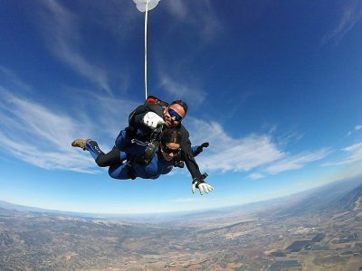 Skydive jump in Totana with internal video 3600m