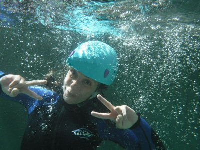 Level II Canyoning in the Sierra Guara, Half Day