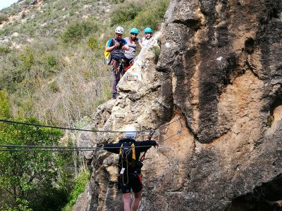 Via Ferrata for Beginners, Sierra de Guara