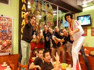 Stag party; yate,dinner,party,2 nights. Gandia