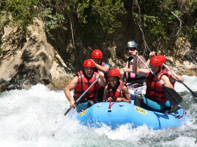 Stag/hen do special: white water rafting