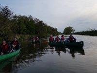 paddling time
