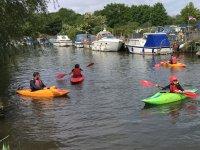 canoeing adventure time