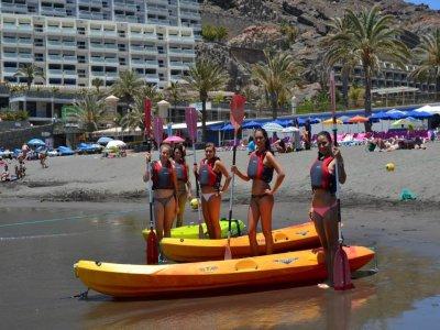 Tandem Kayak Rental in Mogán or Taurito