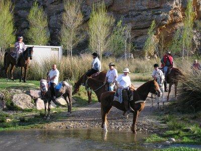 Horseback riding through Sierra de Moncayo 1h