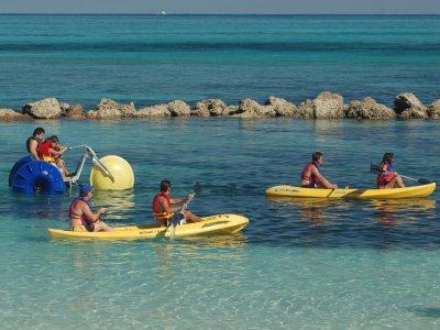 1-hour two-seater kayak rental in Marbella