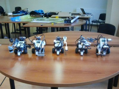 25h Robotics Introduction Course in Bilbao