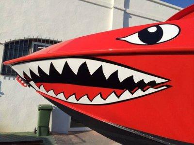 Banana boat + shark jet boat in Torremolinos