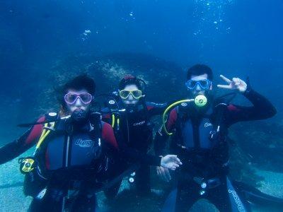 Open Water Dive, ksysk, boat trip, Cabo de la Gata