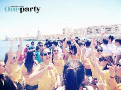 OneParty Despedidas Paseos en Barco