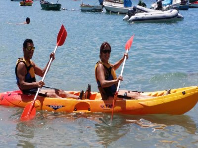Kayak course in Cabo Cope 5 hours