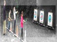 Archery target practice