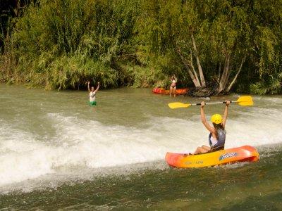 Kayak Descend Through Segura + Picnic & Photos