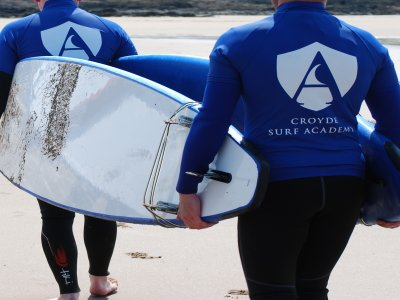 Croyde Surf Academy Surfing