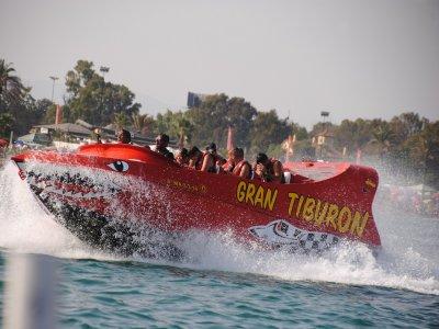 Jet Boat ride & 4 Inflatables in Torremolinos