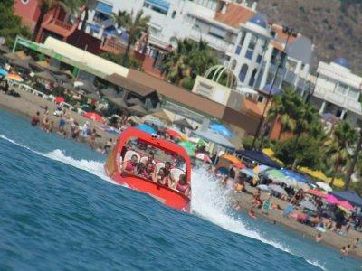 Jet Ski + Giant Shark Jet Boat in Torremolinos