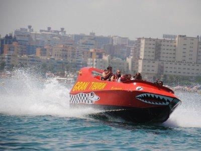 Jet Boat w. 8 Drags, Torremolinos