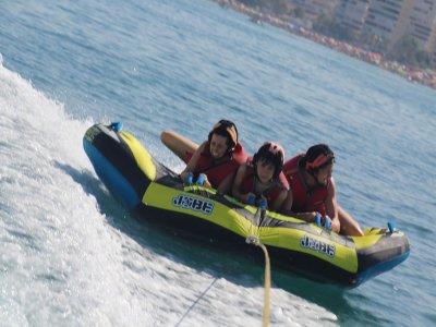 Aquaslider inflatable raft in Torremolinos