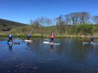 Stand up paddle boarding in North Devon
