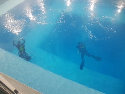 Immersion 8 metres in a moat Fuenlabrada