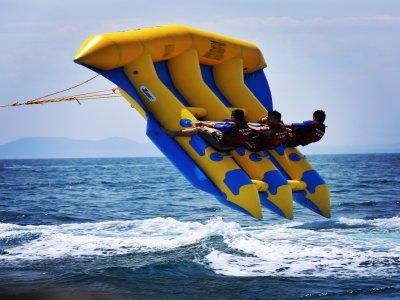 Flying Raft in Barceloneta for 15 minutes