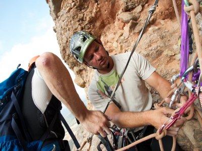 Climbing camp in Riglos