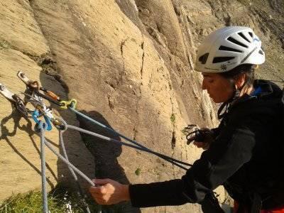 Climbing long tracks course, 3 days