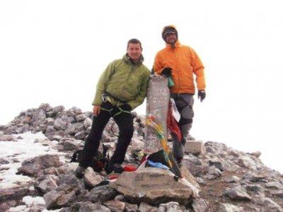 Climb Mount Perdido, 2 days, for 6 people max.