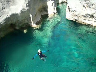Canyoning for beginners Estrechos Sant Aniol