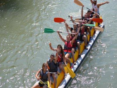 Banana Boat Descent on the Segura River