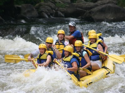 Rafting in Cabriel River + 1 Night hosting