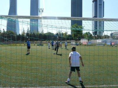 Vicente del Bosque football camp, 2 weeks, Madrid