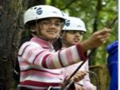 Girlguiding UK Waddow Hall Abseiling