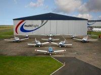 Great variety of aircrafts in Multiflight Aircraft Flights