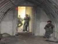 Hiding in the bunker