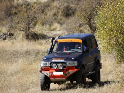 4x4 route through the mountain range of Huesca