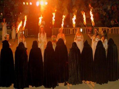Gothic gymkhana Vampire Mascarada in Toledo