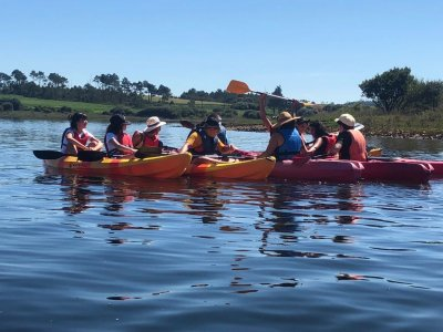 Kayak guided tour 1 h 30 min Fervenza reservoir
