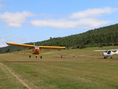 Ultralight aircraft flight Fervenza reservoir, 1 h