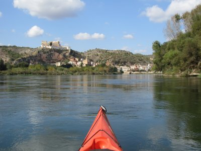 Canoeing route, Vinebre and Mora, 2h30min