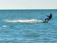 Kitesurfing in northern France