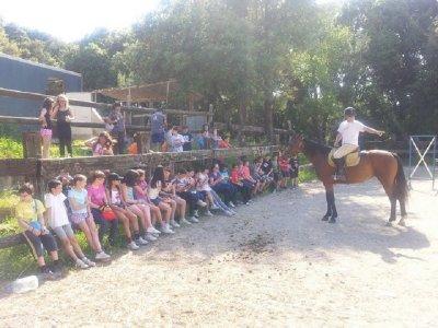 Horse-riding camp in Girona, 1 week
