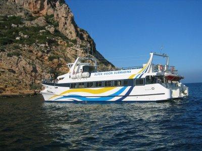 Mini boat trip between Jávea and Dénia