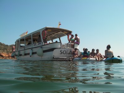 Chill Out Boat Tour, Mar Menor + Drinks 2h