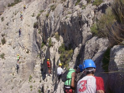 Half day via ferrata in Alicante